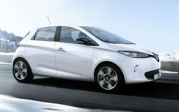 Renault Zoe приедет в Париж с новой батарейкой