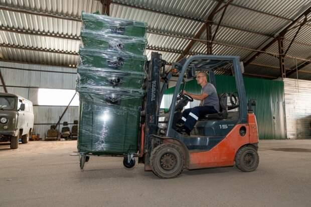 В Удмуртии закупили 1280 евроконтейнеров для раздельного сбора отходов