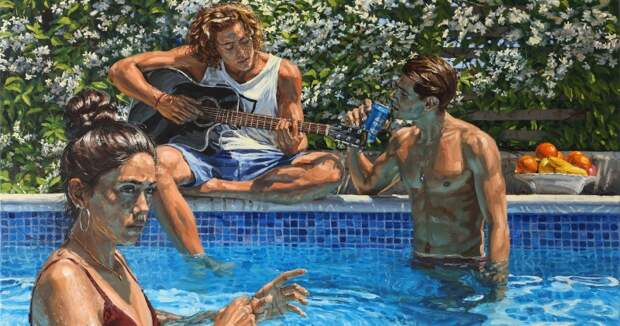 Эх, молодежь! Теплые и реалистичные картины Мишеля дельКампо