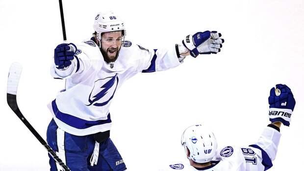 Кучеров установил рекорд «Тампы» по количеству очков в одной серии плей-офф НХЛ