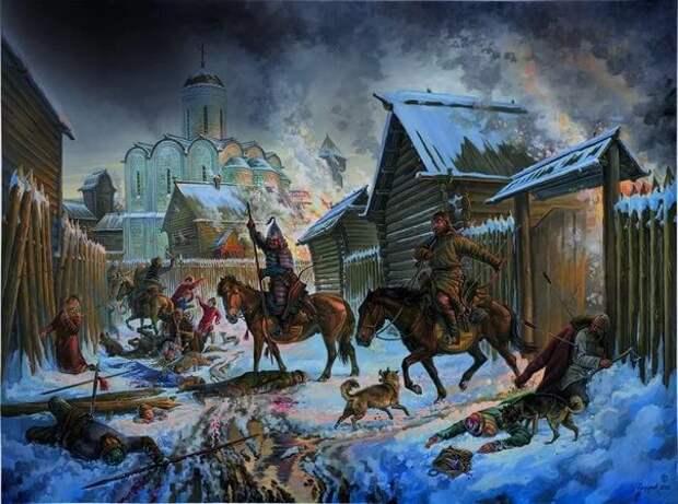 Взятие Киева монголами