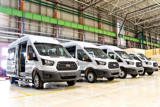 Ford Transit российской сборки:  выпущено свыше 100 тысяч машин