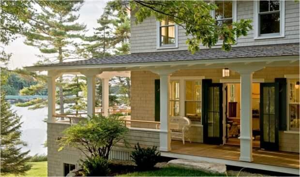 Очаровательный французский стиль идеально подойдет для больших загородных домов.   Фото: votremaisonsurson36.com.