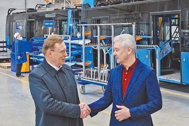 В Москве открыли завод по сборке электробусов «КамАЗ»