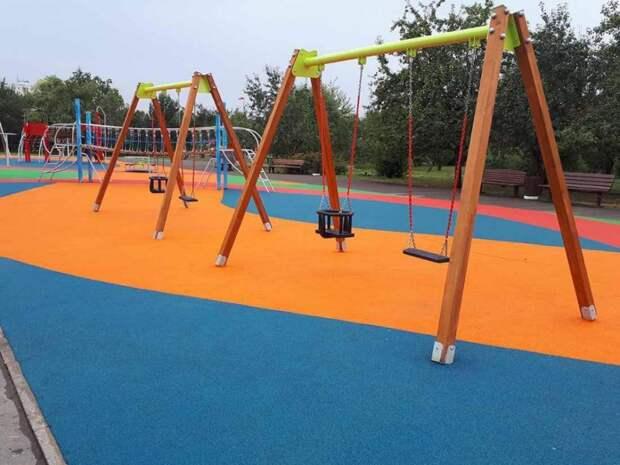 Тайм-аут окончен: в парке на Коровинском шоссе заработали спортивные площадки
