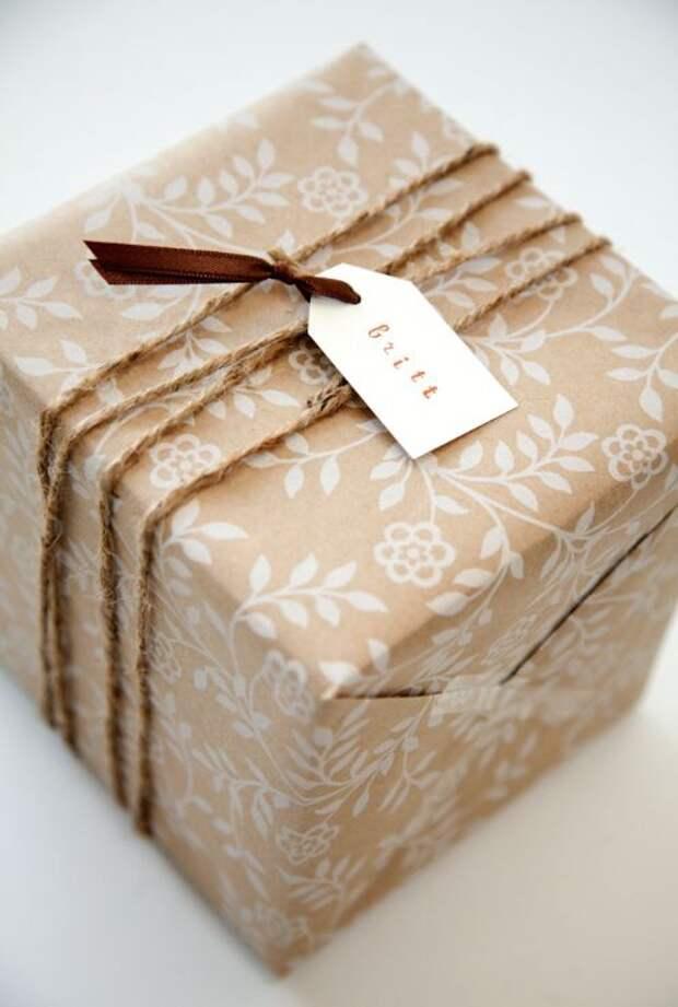 Новогодние крафт упаковки часть 2 (трафик)