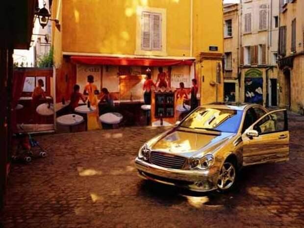 Подборка хромированных машин (49 фото)