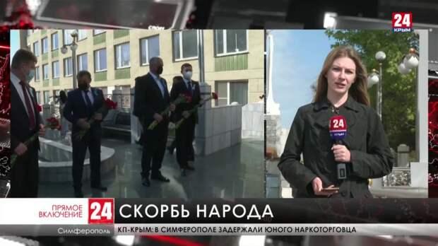 Мемориальные церемонии, посвящённые памяти жертв депортации, проходят по всему Крыму