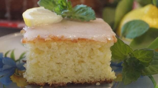 Наивкуснейший лимонный пирог. Быстро, просто и вкусно!