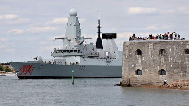 Англы нагло проверили оборону Крыма. Прощупают ли русские эсминцы Британию?