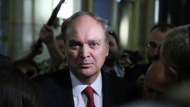 Посол России Анатолий Антонов прилетел в США