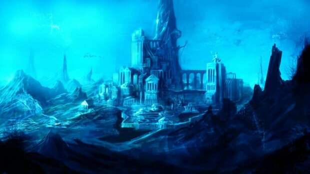 Атлантида поднимается со дна