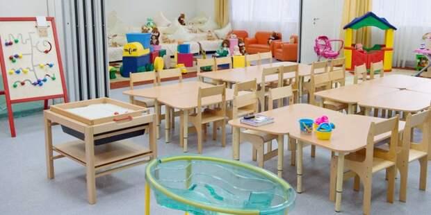 В жилом комплексе на Беломорской открылся детский сад