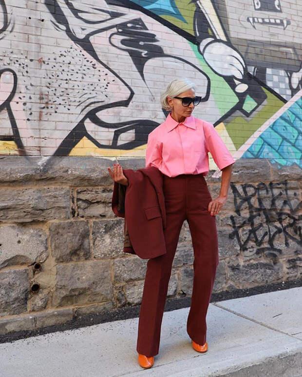 Ей 50 и она доказывает что можно выглядеть стильно
