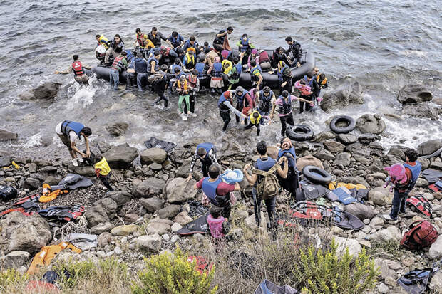 Миллионы мигрантов - одна из серьезных угроз стабильности в мире.