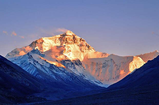 интересное про Эверест