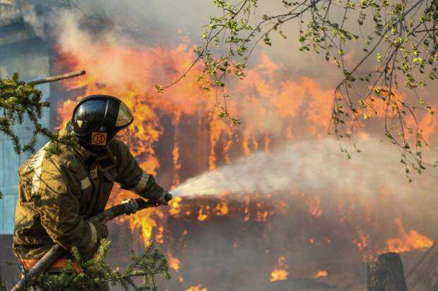 В Тверской области выбрали лучшего лесного пожарного
