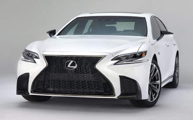 Выход третий, спортивный: Lexus LS F Sport отпразднует премьеру в Нью-Йорке