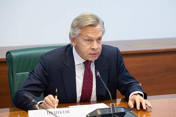 Пушков назвал ошибку Зеленского в международной политике
