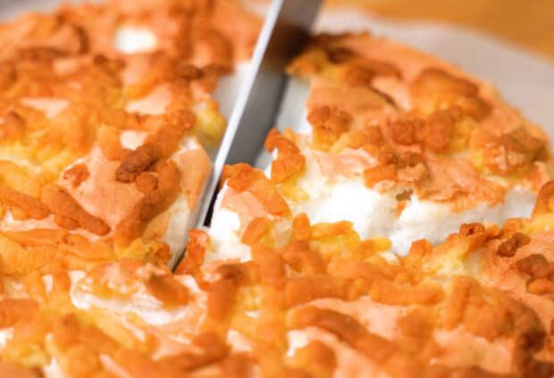 Вместо шарлотки: самый нежный и ароматный яблочный пирог «Облака»