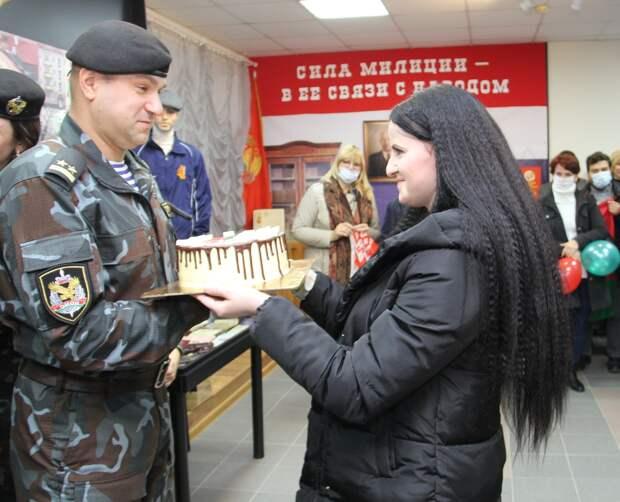 В Гродно поблагодарили бойцов ОМОНА