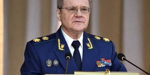 Генпрокурор Юрий Чайка ушел со своего поста