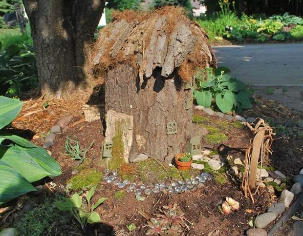 Что только не придумают дачники, чтобы украсить сад