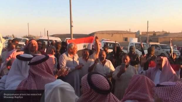 Старейшины арабских племен поддержали Асада в борьбе против оккупации США