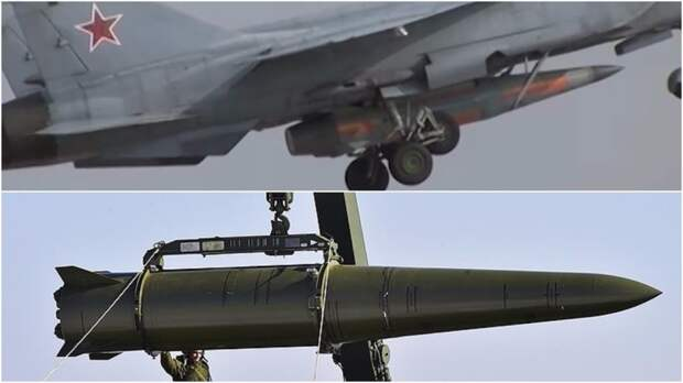 """Гиперзвуковые ракеты """"Кинжал"""", Россия. Источник изображения:"""