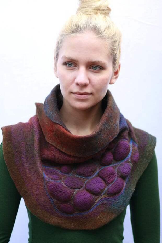 15 необычных шарфов, которые помогут оживить ваш образ в холодную погоду