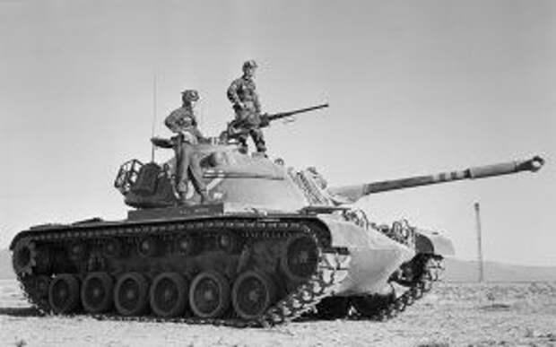 На фото: танк M48 Patton