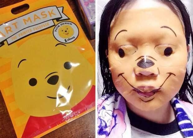 Детская маска из фильмов ужасов заказ, интернет, ожидание и реальность, прикол