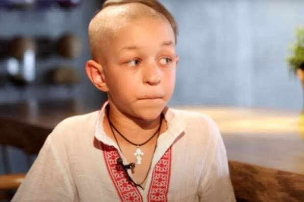 """Украинские журналисты показали интервью """"ребенка-националиста""""."""