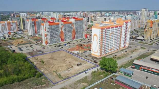 """16-этажную """"свечку"""" вместо парковки предлагают построить в новом квартале Барнаула"""