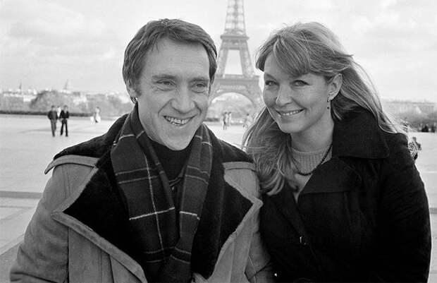 Владимир Высоцкий и Марина Влади в Париже, 1977 год (Corbis / All Over Press)
