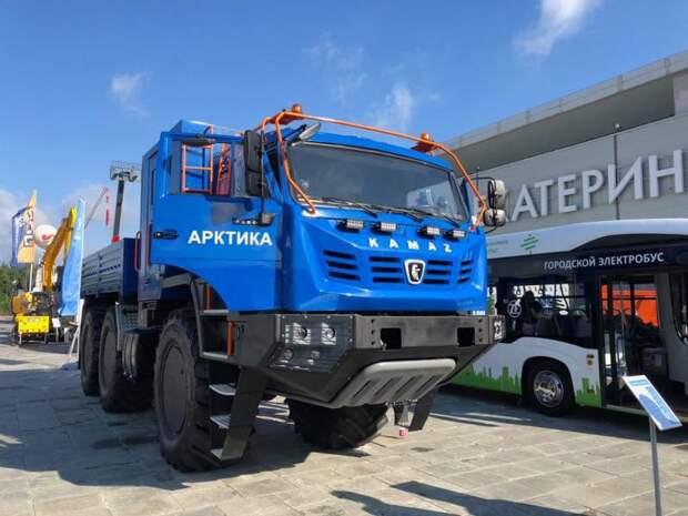 Арктический грузовик КамАЗ-6355 накануне испытаний и производства