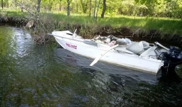 При столкновении катеров в Саратовской области погибли два человека