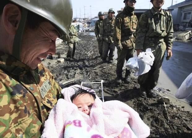 Японская женщина отдала жизнь для того, чтобы спасти своего сына