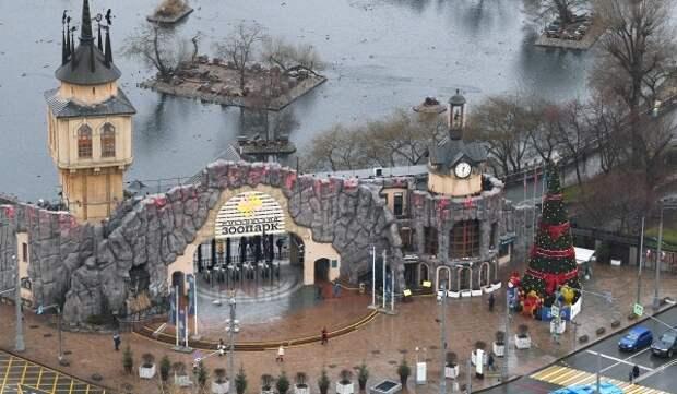12 мая временно закрыт пешеходный мост на новую территорию Московского зоопарка