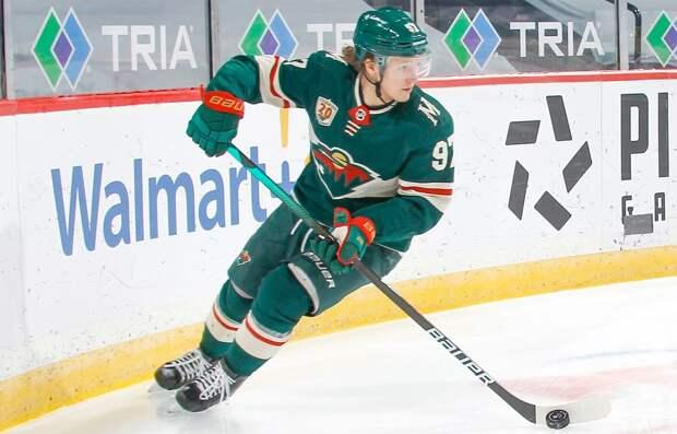 Капризов — 1-я российская звезда недели в НХЛ, Панарин — 2-я, Варламов — 3-я