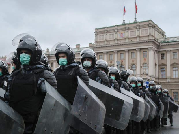 Бастрыкин: Костяк участников протестов в Петербурге составили безработные, «агрессивные» приезжие и школьники