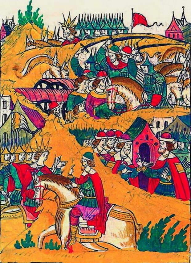 Взятие ратниками Шереметева царского обоза