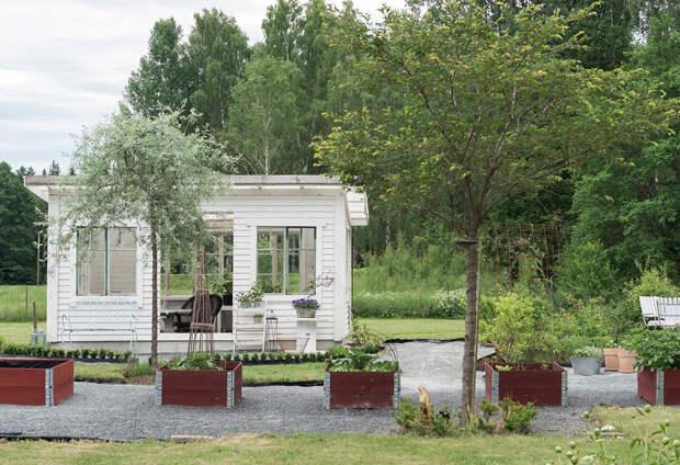 Прекрасная дача на старой ферме в Швеции