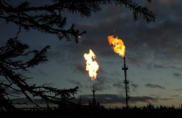 Попутный газ выбросы метан