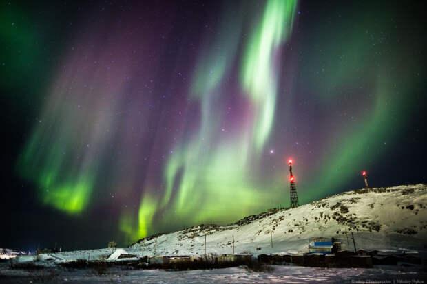 5 мест в России, где можно увидеть северное сияние