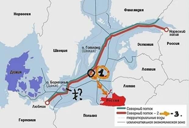 """""""Северный поток – 2"""", тот же случай с французскими """"Мистралями, но для Берлина"""