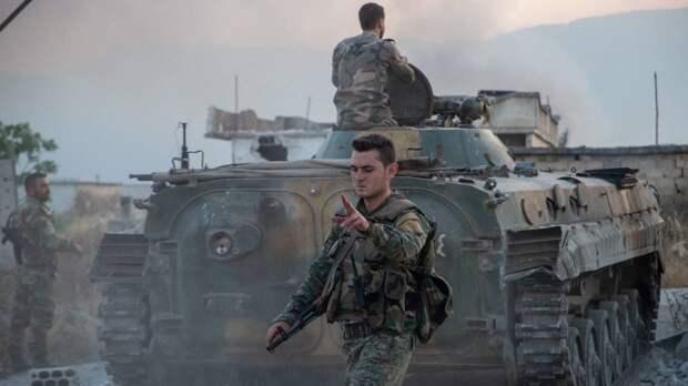 Сирийская армия перебрасывает технику на север страны на фоне заявлений Турции