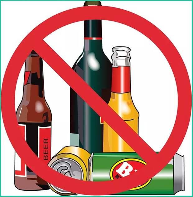 Употребление алкоголя: где можно, а где нельзя распивать?