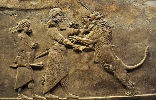 Ассирийская армия: смелость, жестокость, тактика...