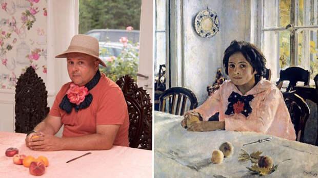 ИЗОизоляция: как русские пародируют шедевры живописи